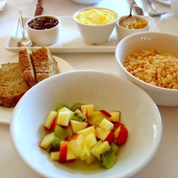Fruit, Cereal and Brown Bread