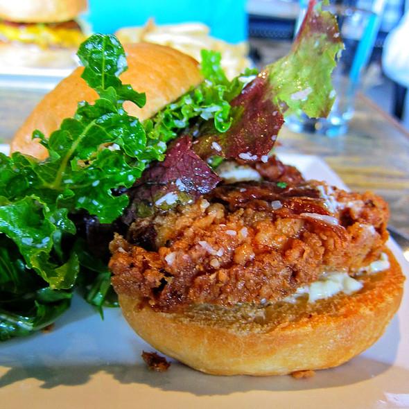 Fried Chicken Sandwich - Marlowe, San Francisco, CA