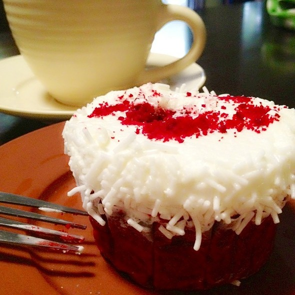Red Velvet Cupcake @ Leona's Cakes and Pastries
