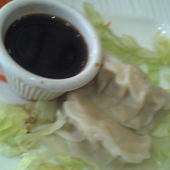 Chicken Dumplings @ Red Parrot Asian Bistro