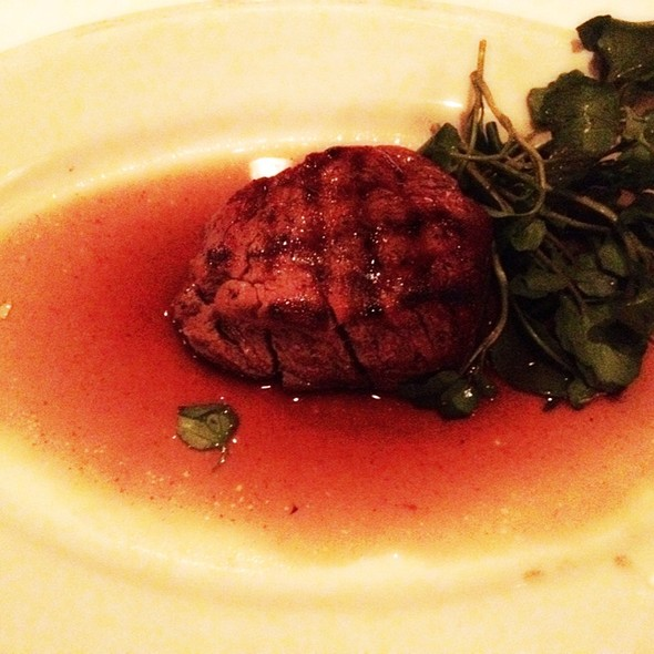 6Oz. Single Cut Filet Mignon - Morton's The Steakhouse - Houston - Galleria, Houston, TX