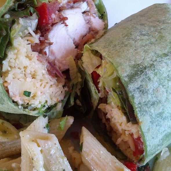 Grilled Chicken Wrap @ Ettore's Bakery