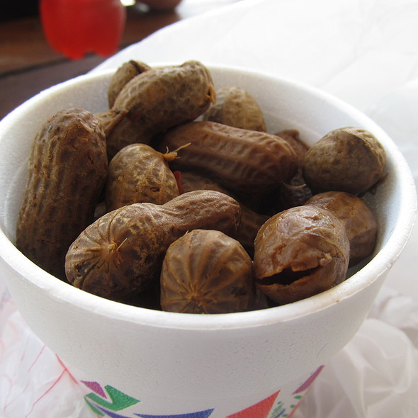 Cajun Boiled Peanuts @ Mastadon Market @ Wekiva Falls Resort