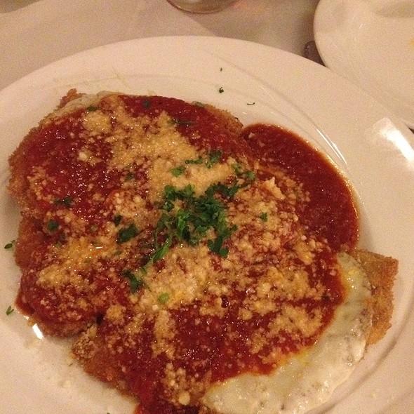Veal Parmagiana - Joseph Tambellini, Pittsburgh, PA
