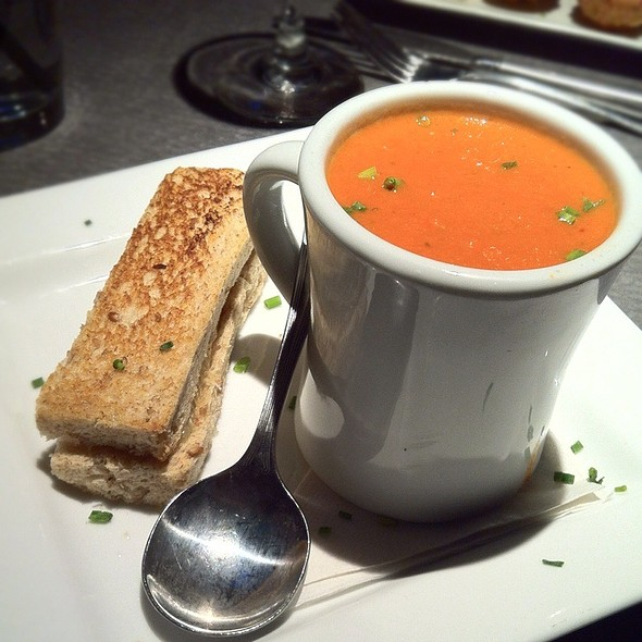 Mini Brie Grilled Cheese W/ Tomato Soup - Cabana, Nashville, TN