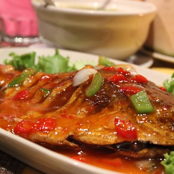 Sweet Sour & Spicy Fish @ Royal Thai Kitchen