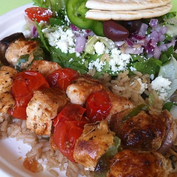 Zoes Kitchen Chicken Kabob zoe's kitchen menu - destin, fl - foodspotting