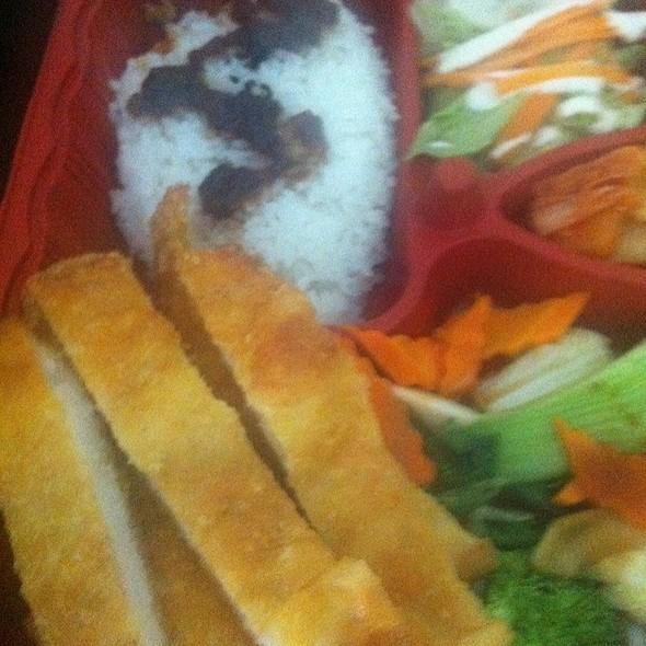 Pork Katsu Bento Box @ Sunny's Bistro