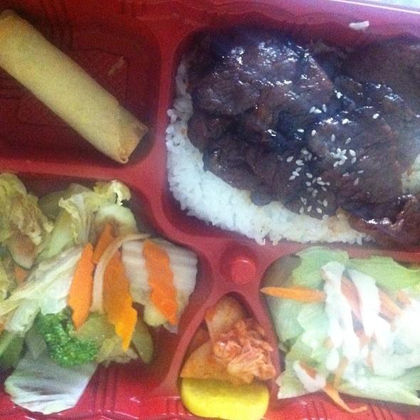 Beef Short Ribs (Korean Style) @ Sunny's Bistro