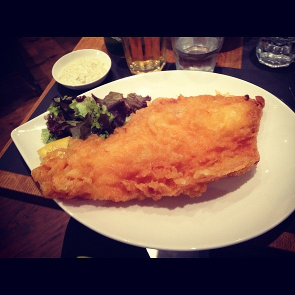 Fish (cod) & Chips @ Oliver's Fish & Chips