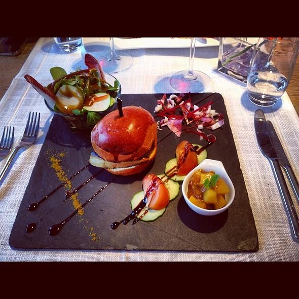 Foie Gras Burger @ Restaurant Clé De Sol
