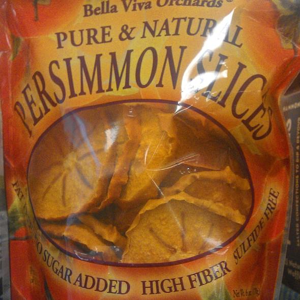 Persimmon Slices