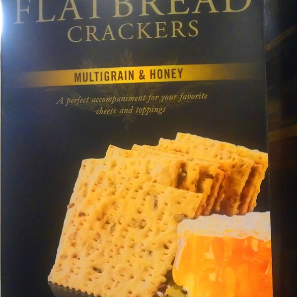 Multigrain and Honey Flatbread Crackers