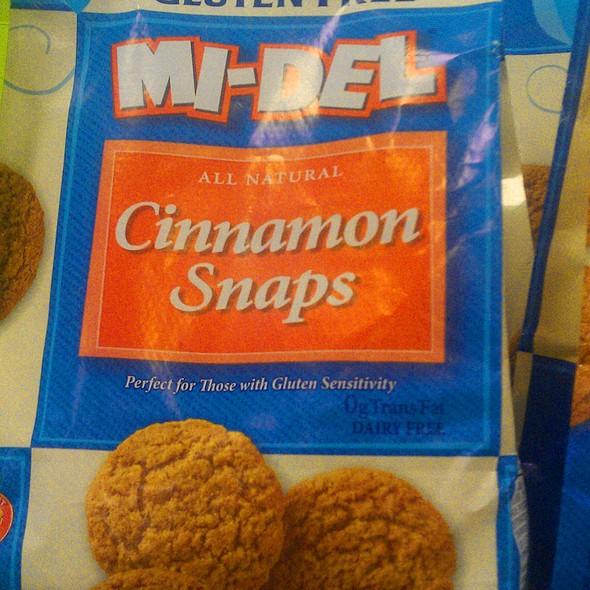 Cinnamon Snaps