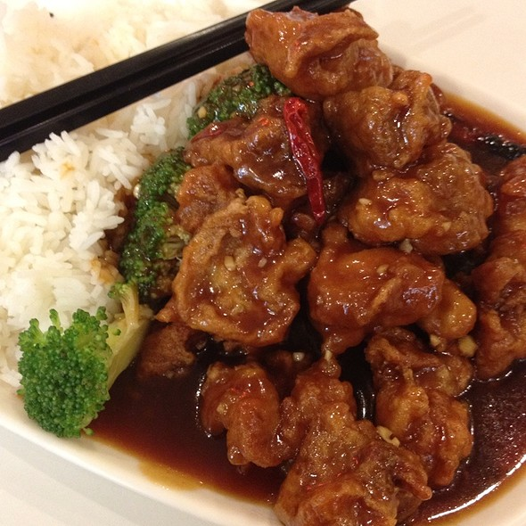 General Tso's Chicken @ Dim Sum Garden