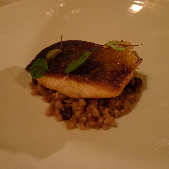 Arctic Char - The Restaurant at JUSTIN Vineyards & Winery, Paso Robles, CA