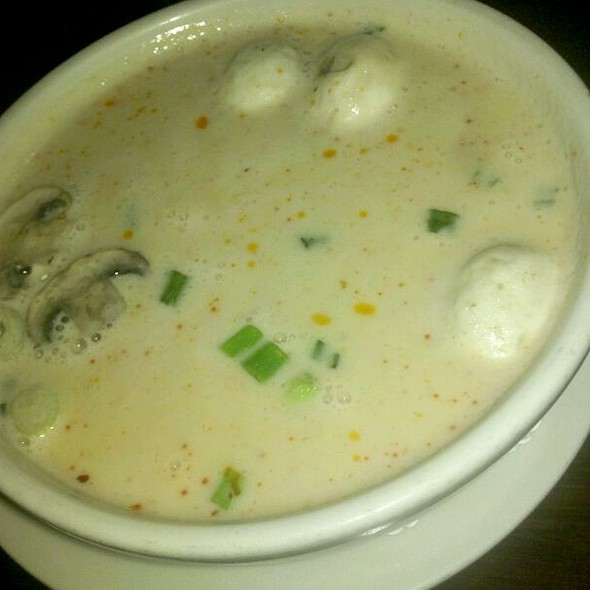 Tom Kar Gai Soup @ Sushi Siam Morningside Inc