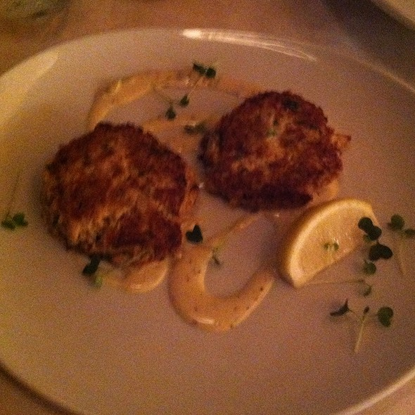 Grilled Blue Crab Cakes - Jax Fish House and Oyster Bar- Fort Collins, Fort Collins, CO