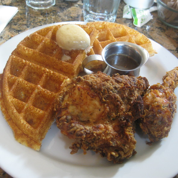 Chicken and Waffles @ Brown Sugar Kitchen