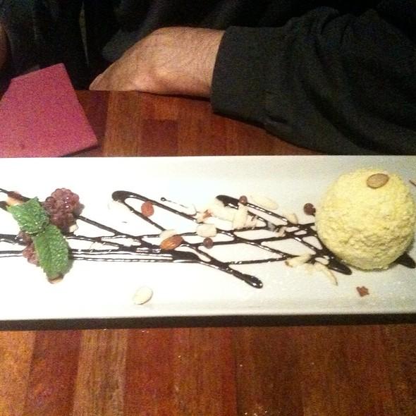 Ice Cream With Lemon Meringue Nibs And Caramel @ Summer Summer Thai Eatery