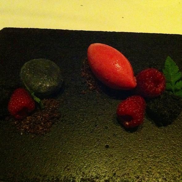 Raspberries - Castagna Restaurant, Portland, OR