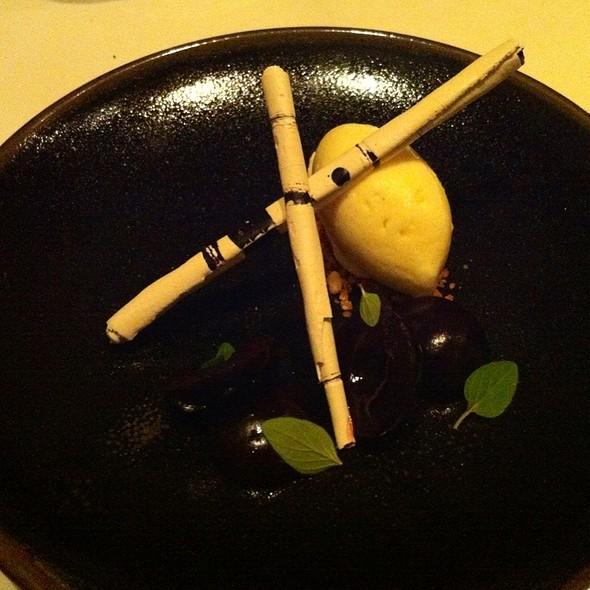 Cherries - Castagna Restaurant, Portland, OR
