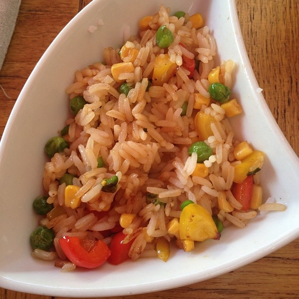 Jasmine Rice with Stir-fried Mixed Vegetables @ Две Палочки
