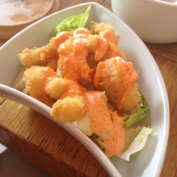 Seafood Tempura With Spicy Sause @ Две Палочки
