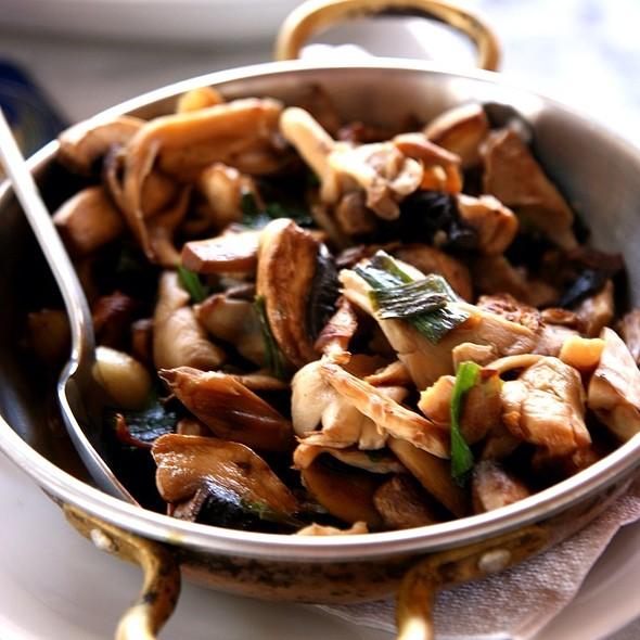 Mushroom @ Restaurant Raki