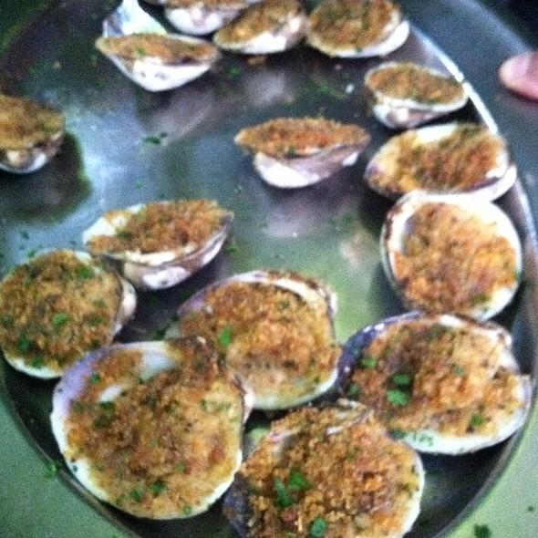 Baked Clams Oreganata - Barbetta Restaurant, New York, NY