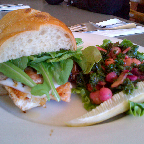 Grilled Chicken Sandwich @ Westside Bakery Cafe