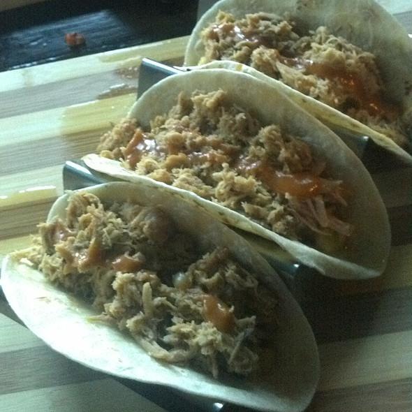 Braised Chicken Soft Taco @ Banditos TNT