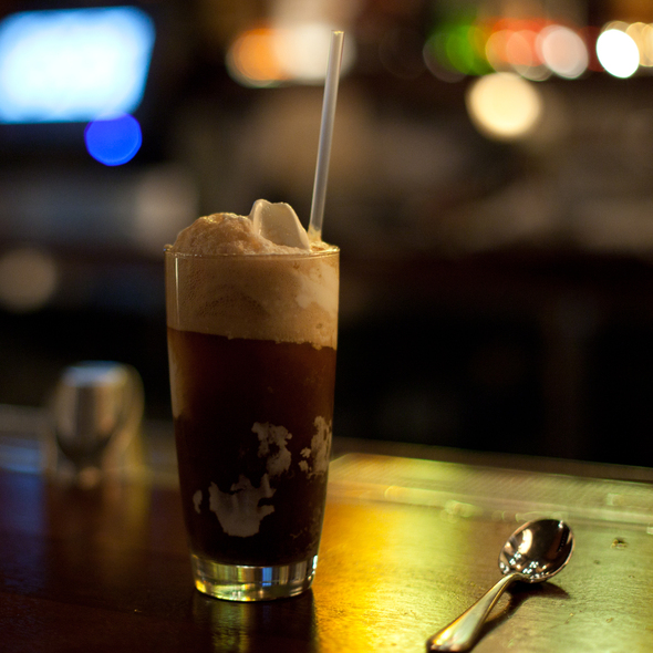 Hard Root Beer Float @ Zero Zero