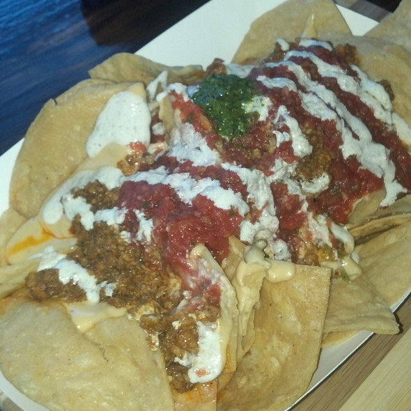 Chorizo Nachos @ Banditos TNT