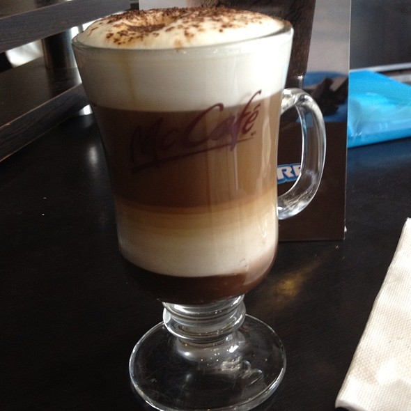 Capuccino Mocca @ Mc Café Chacaito