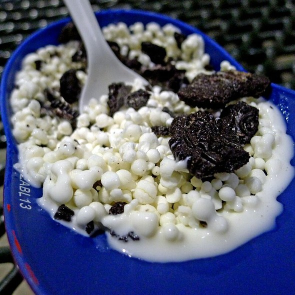 Cookies & Cream Dippin' Dots Ice Cream @ Turner Field