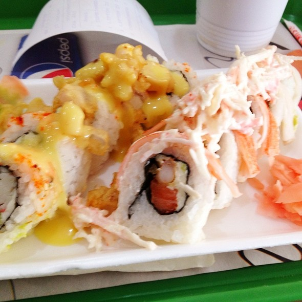Sushi Combo @ Sukihana