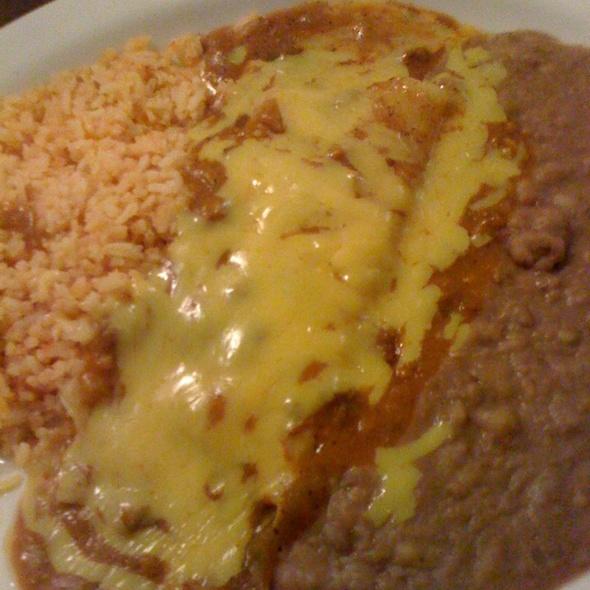 Cheese Enchiladas @ Los Vega Restaurante