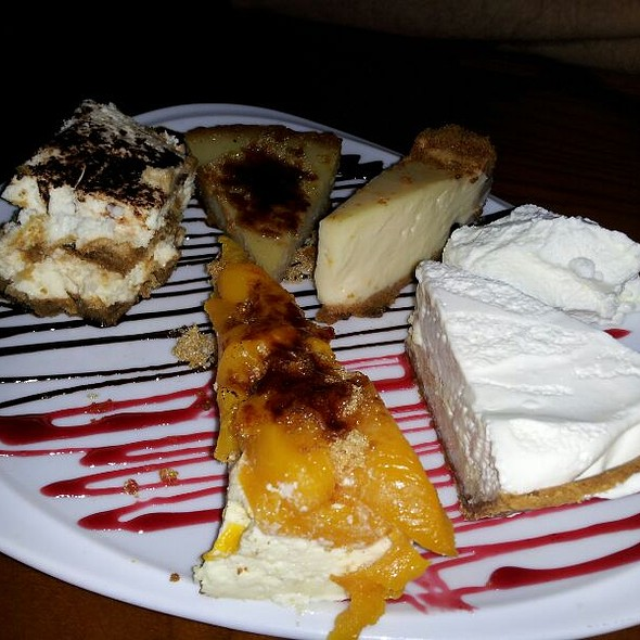 Dessert Sampler @ Square One Fish Company