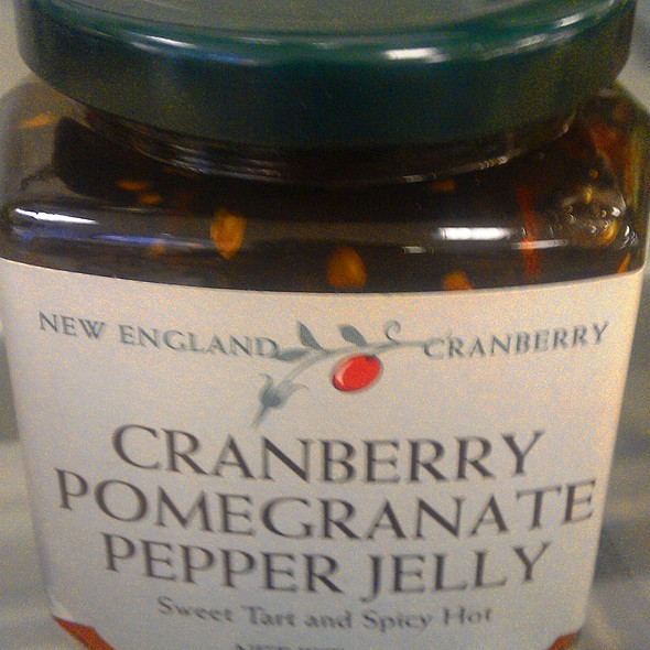 Cranberry Pomegranate Pepper Jelly