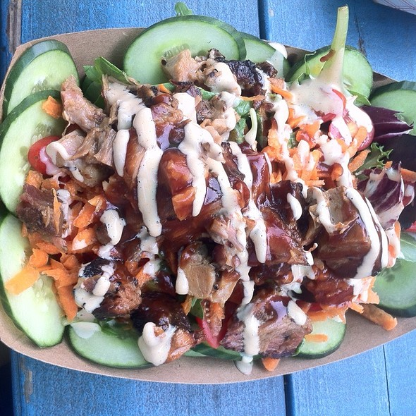 Pork Salad @ Little Brother BBQ