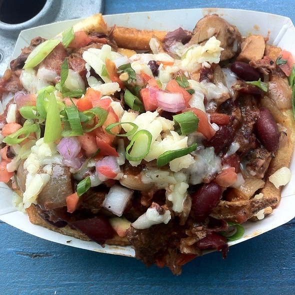 Messy Fries @ Little Brother BBQ