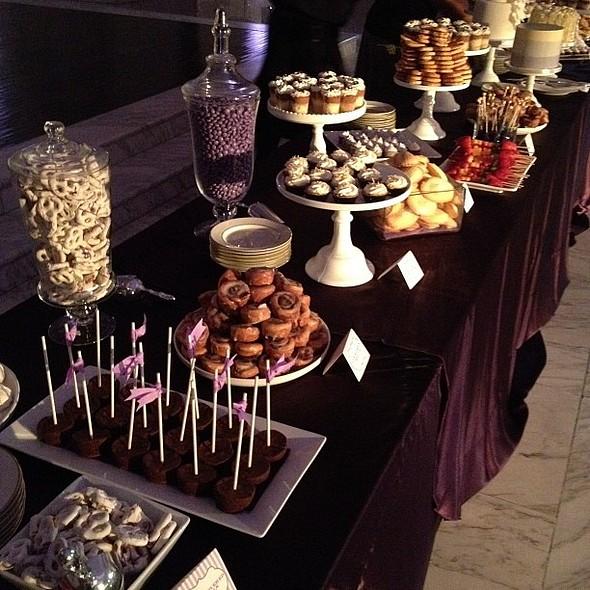 Dessert Bar! @ Vibiana