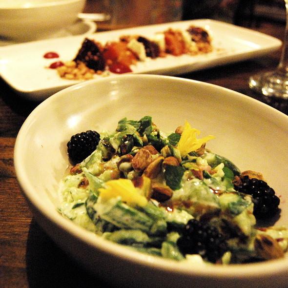 Cucumber Salad @ Back Lane Café