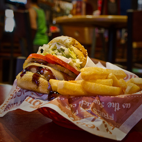 Teriyaki Chicken Sandwich @ Red Robin