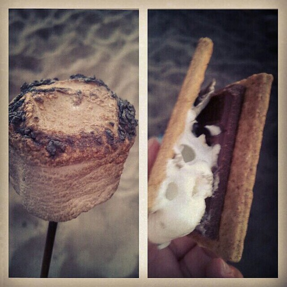 Smore @ Beach Bonfire