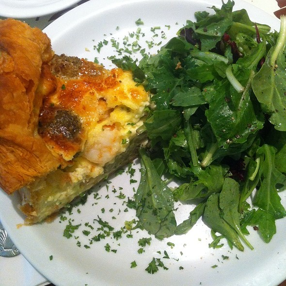 Quiche @ The Butler And The Chef Bistro