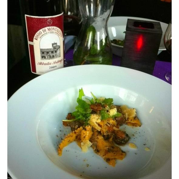Goed, beter, best! Pappardelle met truffel en Rosso di Montalcino