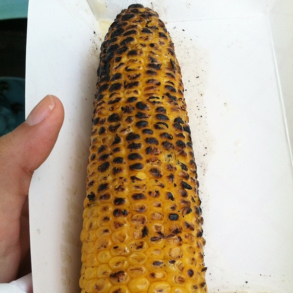 Corn On The Cob In Butter Bath @ Kitchen Kabab (food Truck)