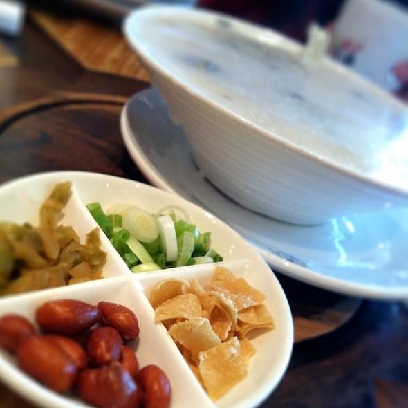 Century Egg Congee @ Just Koi